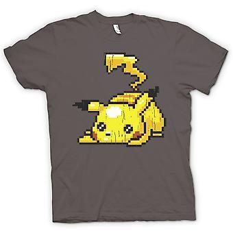 Kids T-shirt - Pikachu - Pokeman Pixel Gamer