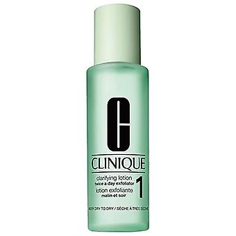 Clinique Clarifying Lotion #1 Zweimal ein Tag Peeling sehr trocken - trockene Haut 13,5 Unzen / 400ml