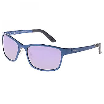 Breed Hydra Aluminium Polarized Sunglasses - Blue/Purple