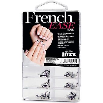 All That Jazz French Ease - False Nails - Black