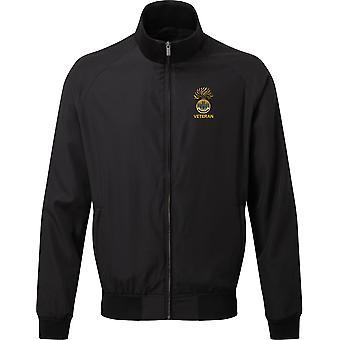 Real Inniskilling Fusiliers 1ª veterano-licenciado British Army bordados Harrington Jacket