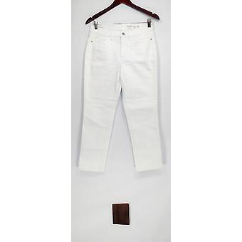 Denim et Cie Femmes Petite Jeans Studio Classic Denim Blanc A304477