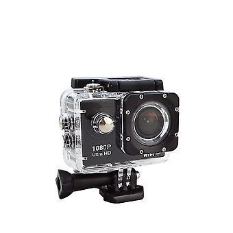 Actie camera Ultra HD 1080p WiFi afstandsbediening sport VideoCamcorder DVR DV waterdichte Pro camera-zwart