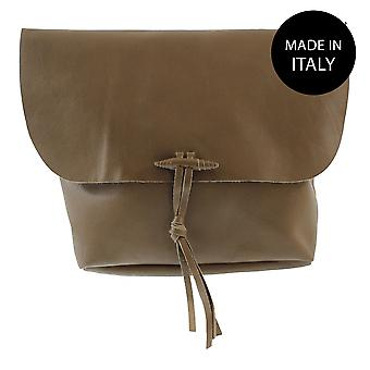 Leather shoulder bag Made in Italy 80008