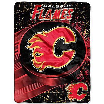 Northwest NHL Calgary Flames Mikro Plüschdecke 150x115cm