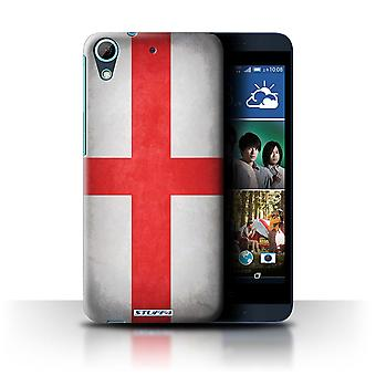 STUFF4 Case/Cover for HTC Desire 626G+/England/English/Flags