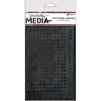 Dina Wakley Media Large Paint Combs-Squares MDA-47773