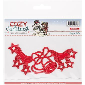 Find It Trading Yvonne Creations Cozy Christmas Die-Jingle Bells YCD10037