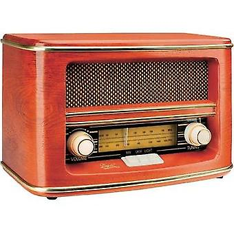 FM Table top radio Dual NR 1 AM, FM Wood