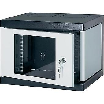 10 server rack cabinet Schroff 10238-152 8 U Black-grey
