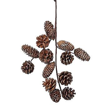Natural Pine Cone Hanger Christmas Decoration