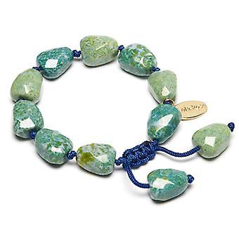 Lola Rose Tess Bracelet Blue Jasmine Marble