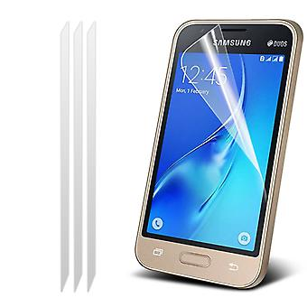 i-Tronixs Samsung Galaxy J5 2016 Pack With 3 Screen Protectors With Polish Cloth -Clear