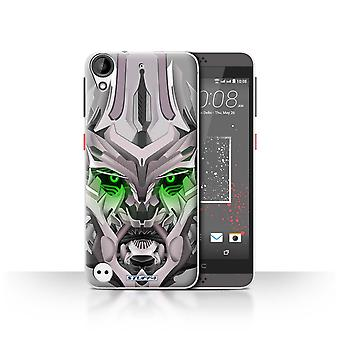 STUFF4 Case/Cover for HTC Desire 530/Mega-Bot Green/Robots