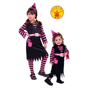 Rubie's Stripes Witch Costume Size 1-2 Years (Kostuums)