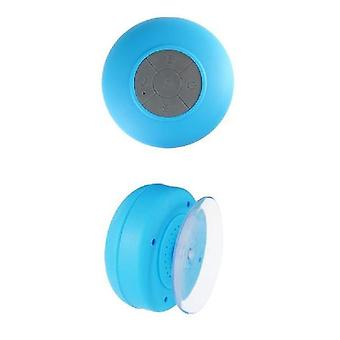 Waterproof Wireless Bluetooth Stereo + Speaker (Blue)