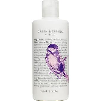 Green & Spring Relaxing Body Lotion