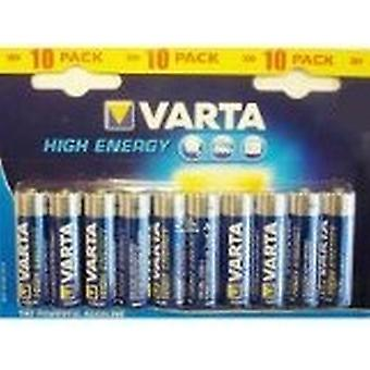 V4906p10 VARTA High Energy Aa Batterien 10pcs