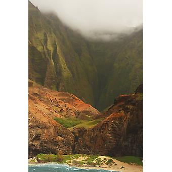 Napali Coast Kauai Hawaii PosterPrint
