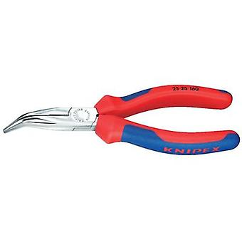 Knipex 25 25 160 Bent Snipe Nose Side Cutting Pliers (Radio Pliers) 160 mm