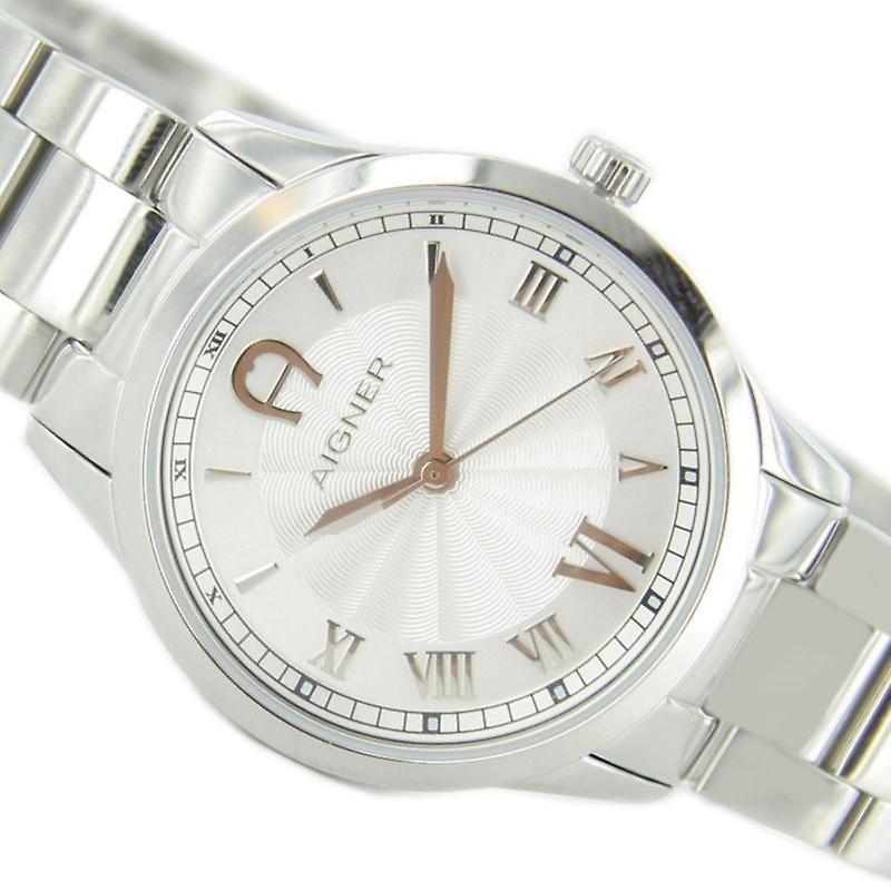 Aigner ladies watch wristwatch Modica silver A32653