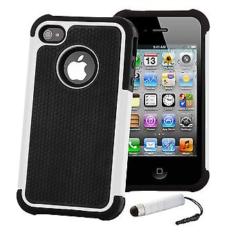 Shock Proof Case Cover voor Apple iPod Touch 5 - wit
