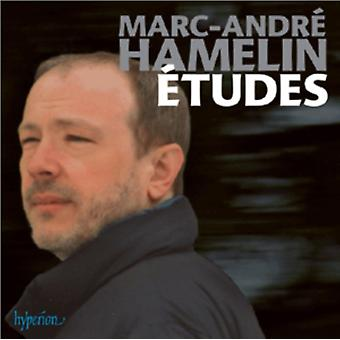 Hamelin: (12) Etudes / Little Nocturne / Con intissimo sentimento - excerpts / Theme and Variations (Cathy's Variations) by Marc Andre Hamelin