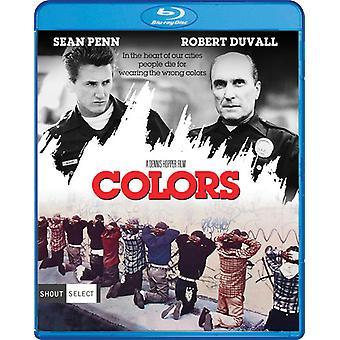 Importer des USA de couleurs [Blu-ray]
