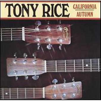 Tony Rice - Californien efteråret [CD] USA import