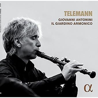 Telemann / Antonini, Giovanni / Il Giardino Armonico - Telemann: musik til optageren [Vinyl] USA import