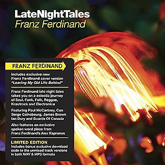 Franz Ferdinand - Late Night Tales [CD] USA import
