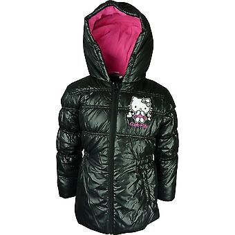 Meisjes Hello Kitty Winter Hooded Puffer jas