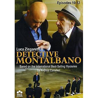 Detective Montalbano, Episodes 10-12 [DVD] USA import