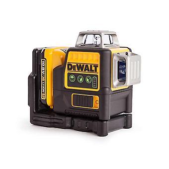 DeWALT DCE089D1G-GB Multi-Line Laser - Grün - 2.0Ah - 10.8v