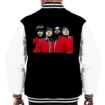 The Libertines Time For Heroes Album Cover Men's Varsity Jacket