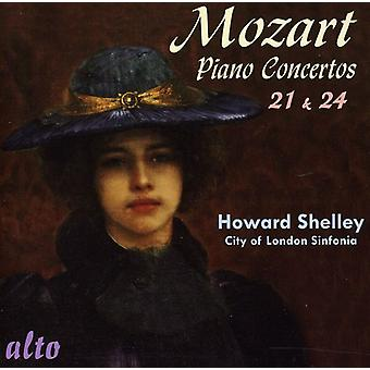 W.a. Mozart - Mozart: Piano Concertos Nos. 21 & 24 [CD] USA import
