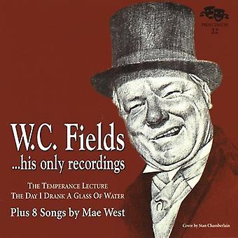 WC felter & Mae West - WC felter hans kun optagelser Plus 8 sange af Ma [CD] USA import
