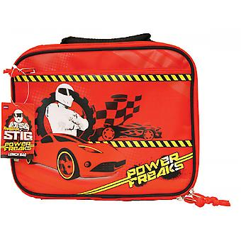 Top Gear Stig Power Freaks Lunch Bag Box Official BBC Top Gear Merchandise