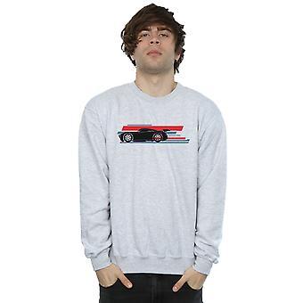 Disney Men's Cars Jackson Storm Stripes Sweatshirt