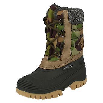 Boys Startrite Snow Boots Utility