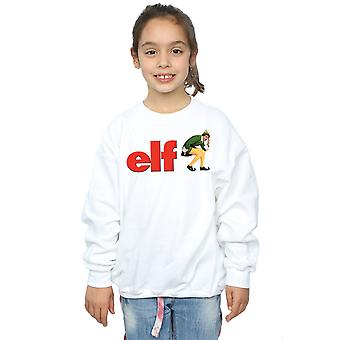 Elf Girls Crouching Logo Sweatshirt