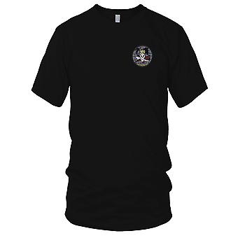 US Navy IBU-52 Inshore Boat Unit Fifty Two Embroidered Patch - Mens T Shirt