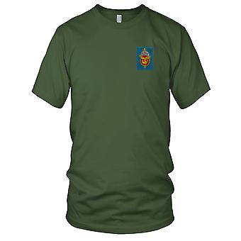 ARVN 5th Airborne Battalion TD5ND - Military Insignia Vietnam War Embroidered Patch - Mens T Shirt