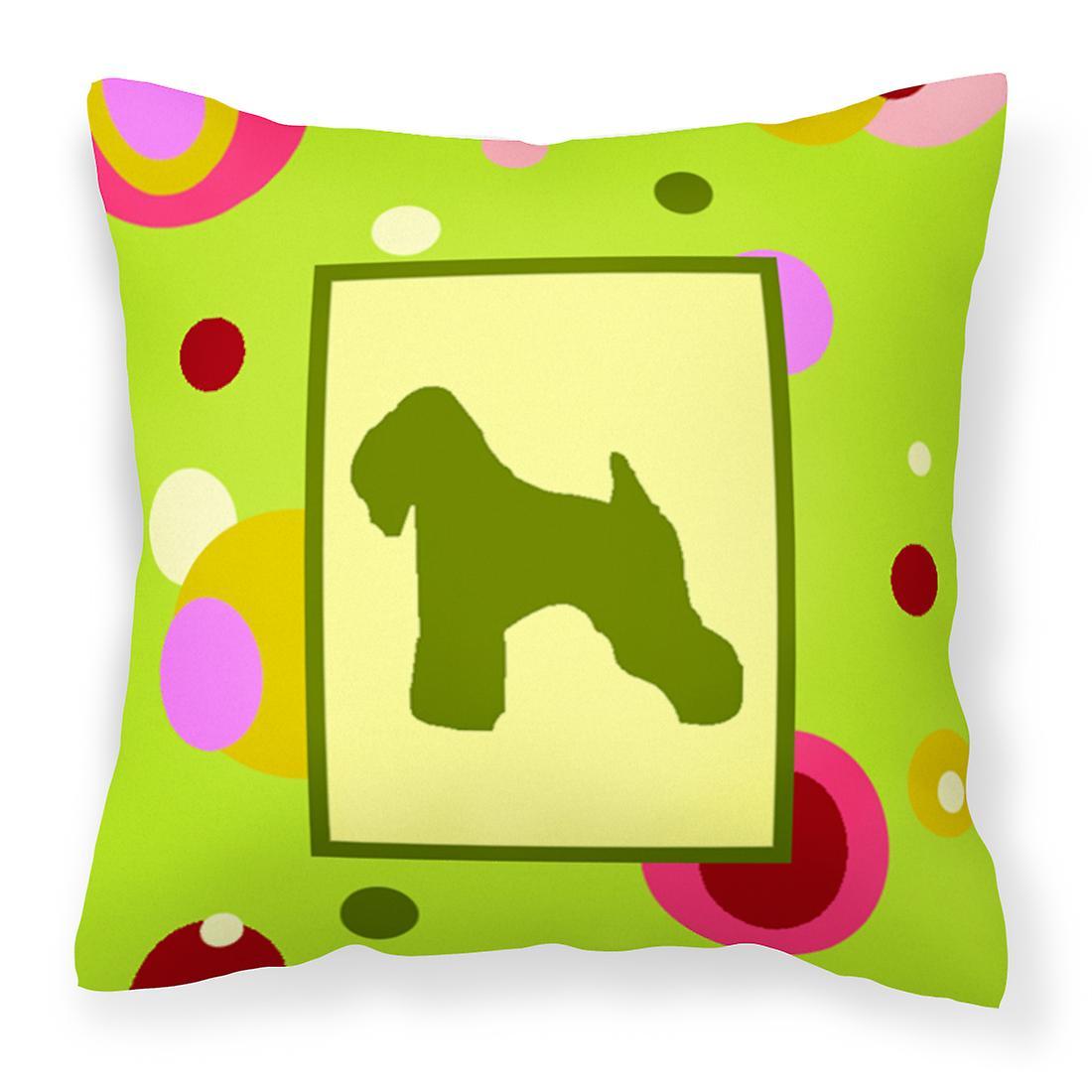 Terrier Oreiller Enduit Wheaten Soft Décoratif Toile Tissu Jc3lFKu15T