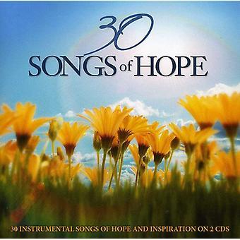 30 canciones de la esperanza: 30 canciones instrumentales de esperanza y - 30 canciones de la esperanza: 30 canciones instrumentales de importación esperanza y USA [CD]