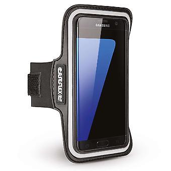 Caseflex Samsung Galaxy S7 kanten armbånd - svart