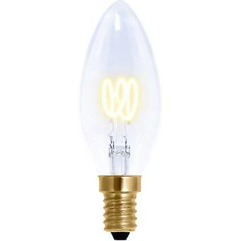Segula LED E14 Candle 2.7 W = 9 W Warm white (Ø x L) 35 mm x 95 mm EEC: A dimmable, Filament 1 pc(s)