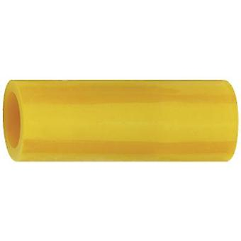 Parallel connector 4 mm² 6 mm² Insulated Yellow