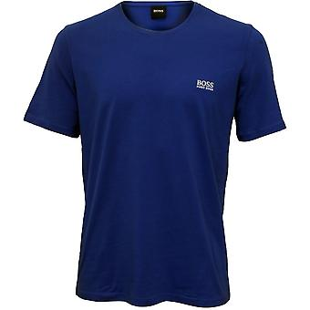 Hugo Boss Luxe Jersey Crew-Neck T-Shirt, royalblau