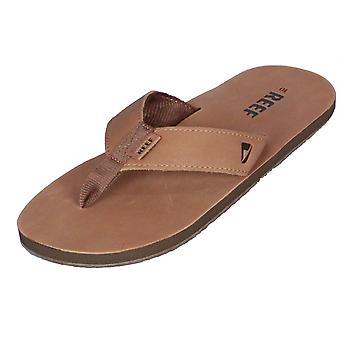 Reef Mens Premium Leather Sandal ~ Leather Smoothy
